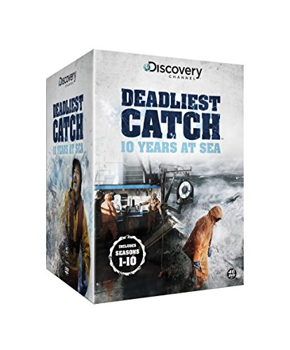 Deadliest Catch: 10 Years at Sea - The Complete Seasons 1-10 [DVD] [UK Import]