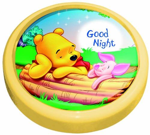 Magic Light 10 cm Fonctionne avec pile bouton poussoir lumière, Winnie the Pooh