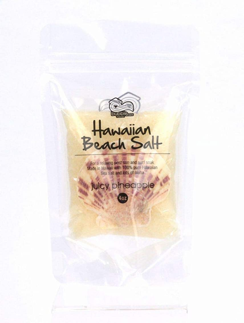 好意今晩勃起バブルシャック ハワイ バスソルト ハワイ お土産 ハワイアン雑貨 ハワイ雑貨 (ジューシーパイナップル)