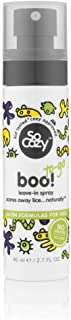 SoCozy Boo! Lice Scaring Spray (Travel Size) For Kids Hair | Scare Away Lice with Tea Tree, Rosemary and Peppermint Oils |...