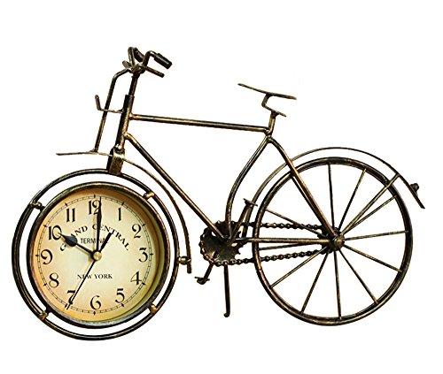 S.W.H Orologio da Tavolo Vintage in Metallo per Biciclette