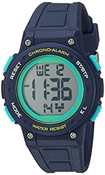 Armitron Sport Women s 45/7086NVY Digital Chronograph Navy Blue Resin Strap Watch