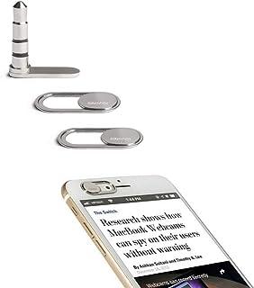 sunshot Sound Blocker Anti-eavesdropping | Laptop Webcam Camera Cover Protection for Phone Laptop Tablet | Mic Blocker Loc...