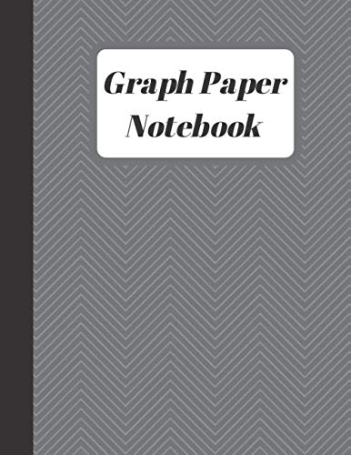 Graph Paper Notebook: Quad Ruled 5 squares per inch ,100 pages 8.5 x 11 inches, Math and Science Composition Notebook for Students.