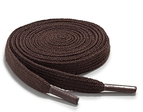 Top 10 best selling list for orthostep narrow flat athletic shoelaces high durability flat shoe laces