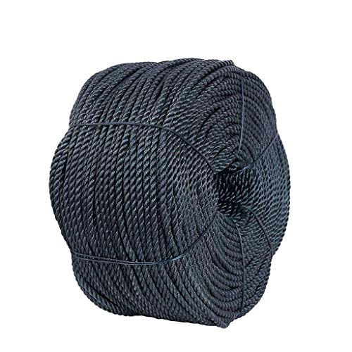GUOHUA Static Climbing Rope - High-Strength Accessory Escape Safety Rope for Craft Rope/Cat Scratch Rope/Garden Binding 8/10/12Mm Length 50M,10mm