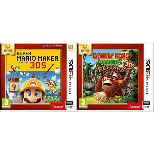 Super Mario Maker SELECTS & Donkey Kong Country Returns 3D SELECTS