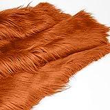 Kunstfell-Stoff, 50,8 x 50,8 cm, in 26 Farben erhältlich,