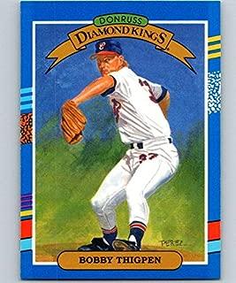 1991 Donruss #8 Bobby Thigpen White Sox DK MLB Baseball