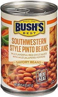Bush's Best Savory Beans Southwestern Style Pinto Beans 15.4 oz
