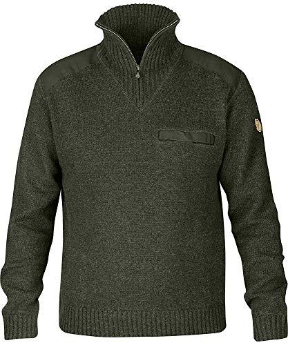 Fjallraven Herren Koster Sweater M Sweatshirt, Deep Forest, XL