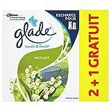 Glade Touch & Fresh - Recambios para muguet (3 x 10 ml)