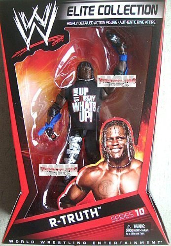 WWE Collector Elite R-Truth Figure - Series #10 by Mattel