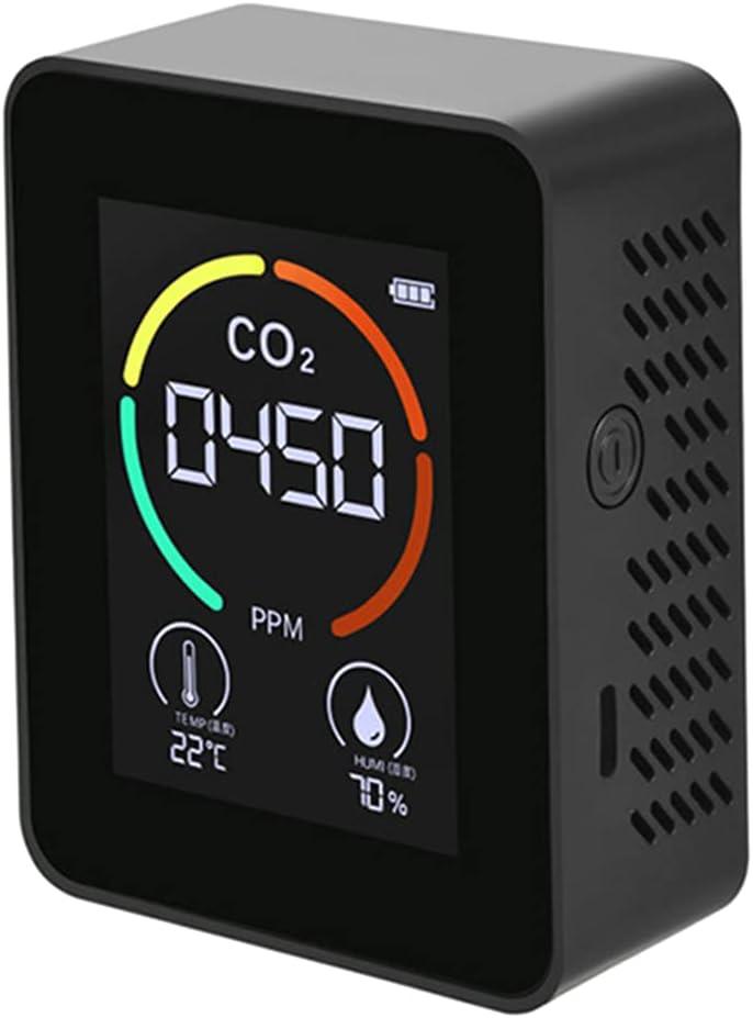 Kamonda Portable CO2 Formaldehyde Max 81% OFF Hu Temperature Digital Monitor Ranking TOP17