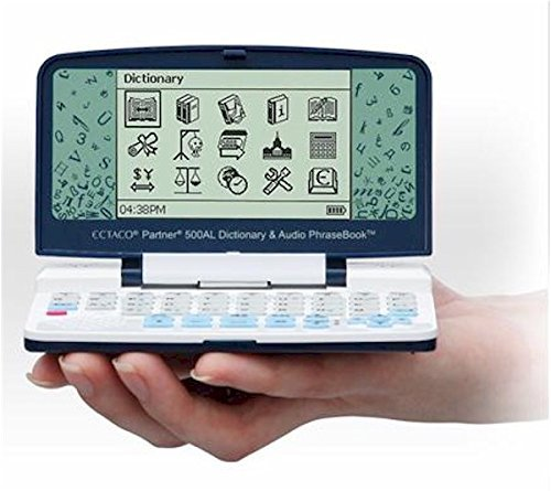 Ectaco EI500 Partner English-Italian Talking Electronic Dictionary and Audio Phrasebook