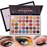 Beauty Glazed Charm 40 Color Eye Shadow Tray Blendable Shimmer Matte Reversal Planet Makeup Pallete Long Lasting Metallic Professional Pigmented Vibrant Bright Creamy Eyeshadow