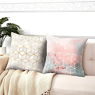 Symiiaus Throw Pillow Covers Cushion Cases for ...
