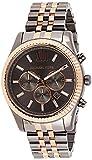 Michael Kors Reloj Cronógrafo para Unisex Adulto de Cuarzo con Correa en Acero Inoxidable MK8561