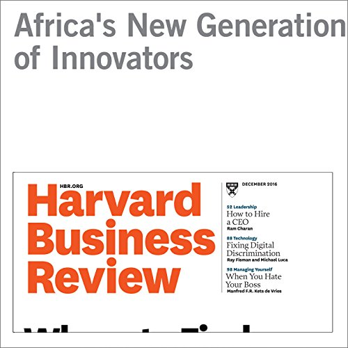 Africa's New Generation of Innovators audiobook cover art