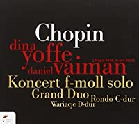 Solo Piano Cto in F Minor / Grand Duo Concertant by Chopin (2011-01-10)