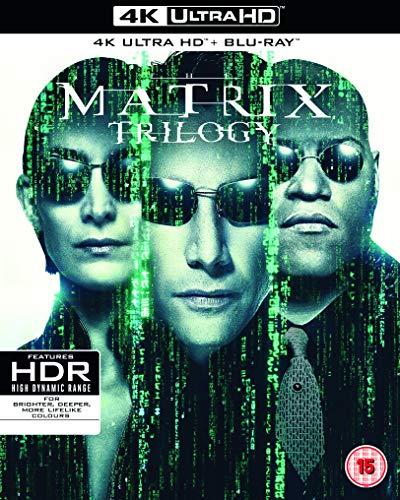 The Matrix Trilogy (9 Blu-Ray) [Edizione: Regno Unito] [Blu-ray]