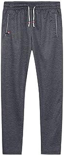Pantaloni della tuta Uomini Joggers Track Pants Elastico in Vita Sport Pantaloni Casual Baggy Fitness Gym Abbigliamento Nero