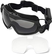 H World EU Ventilator Versie Koeler Airsoft Glas Regulator Goggles Ski Snowboard Bike Sport