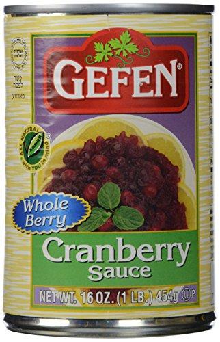 Gefen Cranberry Sauce Whole, 16 oz