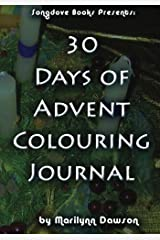 30 Days of Advent Colouring Journal Diary