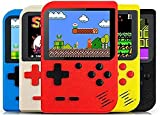 ★Built-in 400 Super Classic Games:Built-in 400 retro games console , Take you back to the fun of your childhood.If You find the scratches on The screen after receving the game console,Just Tear Off The Screen Protection Film. ★Rechargeable battery:Po...