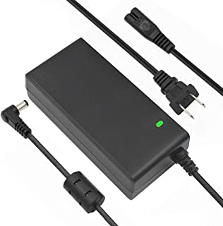 24V 2.5A 60W AC DC Power Supply Adapter with 5.5mm x 2.5mm Male DC Power Plug Jack Connector, Compatible with 24Volt 1a 1.5a 2a 2.5a
