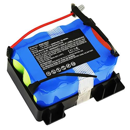 subtel® Batería Premium 14.4V, 2000mAh, NiMH Compatible con Bosch ...