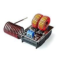 ホット販売5-15V 150WミニZVS誘導加熱ボードフライバックドライバーヒーターDIYクッカー+イグニッションコイル