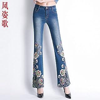 fc5c3d1d25 Amazon.it: Jeans ricamati