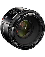 YONGNUO YN EF 50mm f/1.8 AF Lens 1:1.8 Standard Prime Lens Aperture Auto Focus for Canon EOS DSLR Cameras