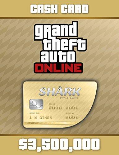 Grand Theft Auto Online: Whale Shark Cash Card (GTAマネー $3,500,000) 【Windows版】 [オンラインコード]