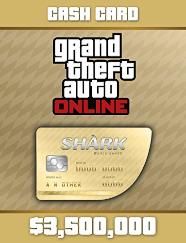 Grand Theft Auto V:  Whale Shark Cash Card - PS4 [Digital Code]