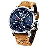 BENYAR Relojes Hombre Relojes de Pulsera Cronografo Diseñador Impermeable...