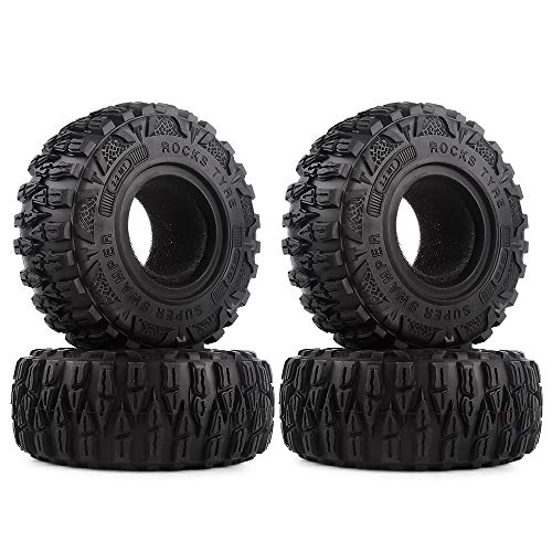 INJORA RC Reifen 4pcs 2,2inch RC Crawler Reifen Reifen Set für 1:10 RC Rock Crawler TRX4 TRX-6 Axial SCX10 90046