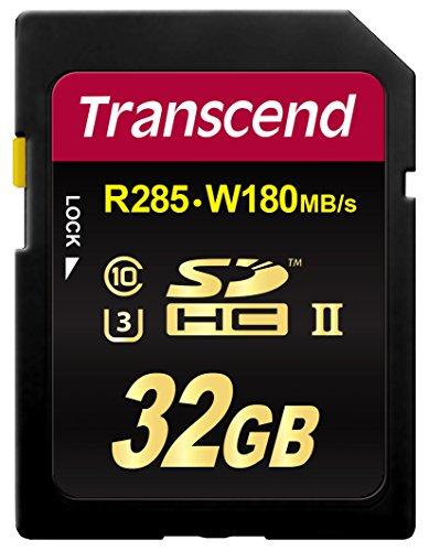 Transcend TS32GSD2U3 Scheda di Memoria SDHC da 32 GB, UHS-II U3, Classe 10