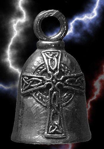 Celtic Cross Guardian Biker Bell