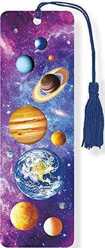 Celestial Bodies 3-D Bookmark. Lenticular Bookmark