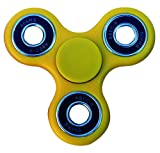 Stages Learning Sensory Builder Finger Fidget Spinner High Speed, Quality Bearing, Stress Reducer for Add, ADHD, Anxiety, Autism, Assorted Colors, 3 x 3 (SLM2003)