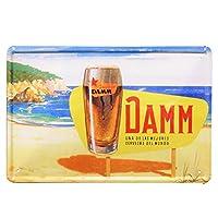 [ファン] Fun! ブリキ看板 ビール daY ポスター 海 夏 ハワイアン BARインテリア雑貨