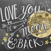 ダイヤモンド絵画手作りギフト「月」ダイヤモンド刺繡5DDIY家の装飾ダイヤモンドモザイク40x40cm
