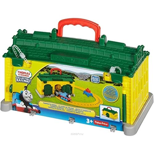 Fisher Price Thomas Adventures Portable Railway Play Set - Tidmouth Sheds