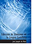 Colección de Sinónimos de la Lengua Castellana