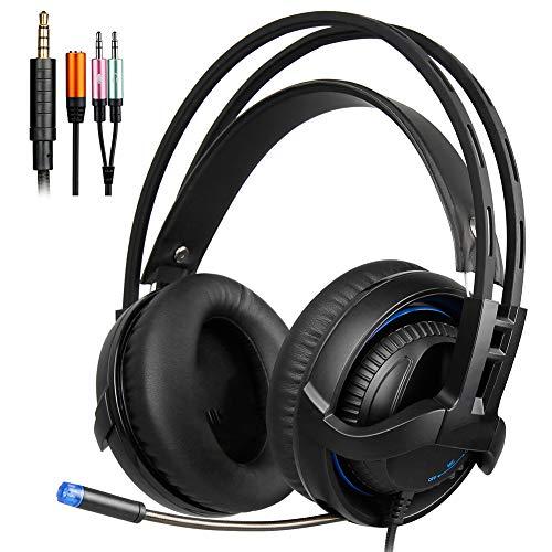 Headset Gaming Headset, Cable Esports Headset, Game Live Headset, 40MM Drive, High Sensitivity Microphone Design, Noise Reduction, Geschikt voor PC Computers, Kan worden gebruikt als geschenken.