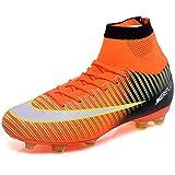 BOLOG Zapatos de Fútbol Hombre Spike Aire Libre Profesionales Atletismo Training Botas de Fútbol...