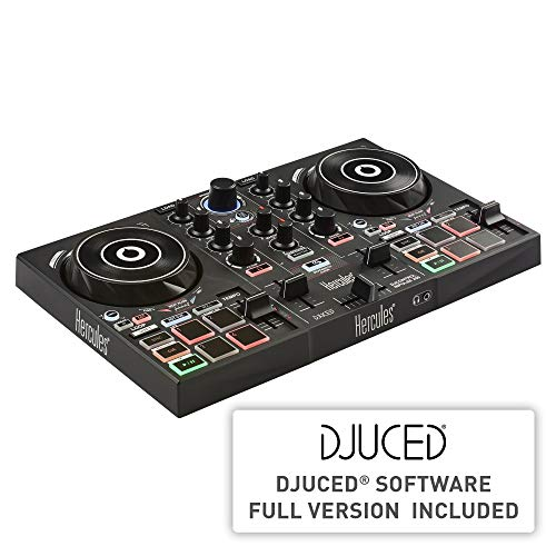 Hercules DJControl Inpulse 200 – DJ controller with USB, ideal for...